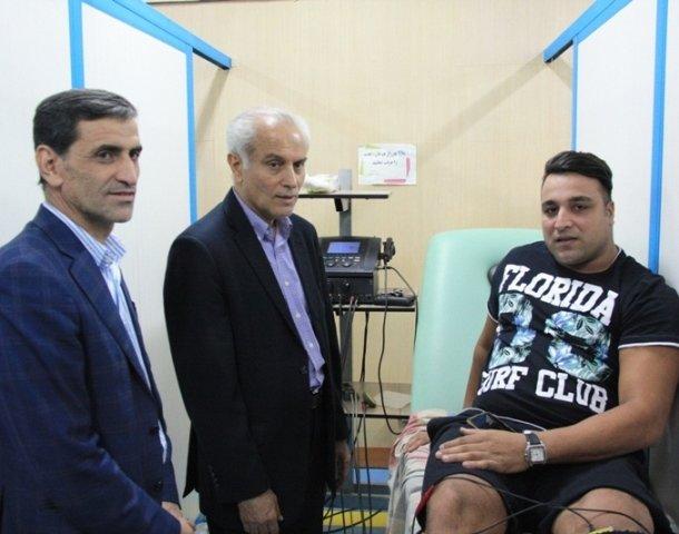 بازدید دکتر سجادی از فدراسیون پزشکی ورزشی