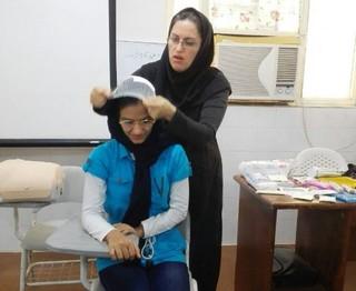 دوره کمک های اولیه ویژه مربیان مهدکودک های بوشهر