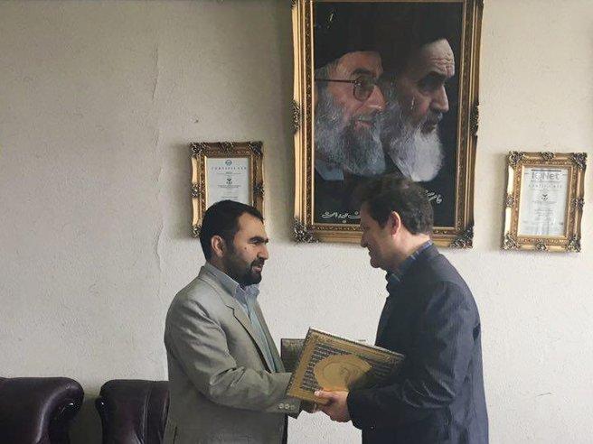 امضاء تفاهم نامه همکاری اداره کل زندان ها و پزشکی ورزشی کرمانشاه