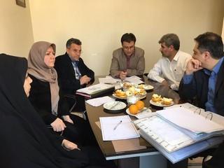 جلسه هیأت رئیسه هیأت پزشکی قزوین برگزار شد