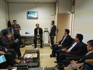 بازدید مدیر کل توسعه منابع انسانی وزارت ورزش و جوانان از هیات پزشکی ورزشی استان اردبیل