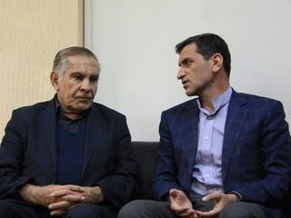 دیدار دکتر نوروزی با احمد ناطق نوری