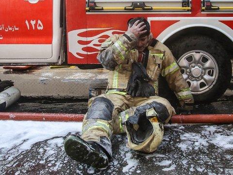 ابراز همدردی فدراسیون پزشکی ورزشی بامردم ایران و آتشنشانان
