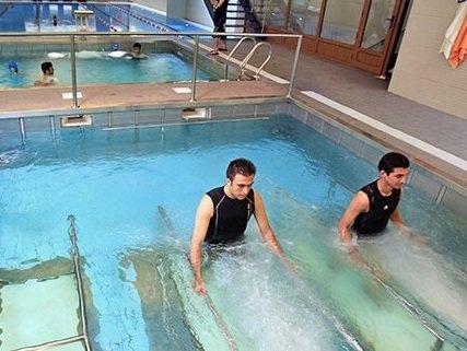 تمرین در آب