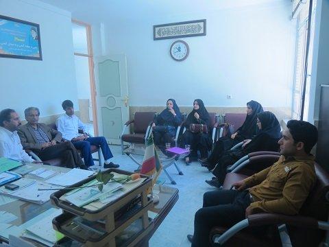 حضور بازرسین هیأت پزشکی ورزشی استان یزد در شهرستان ابرکوه