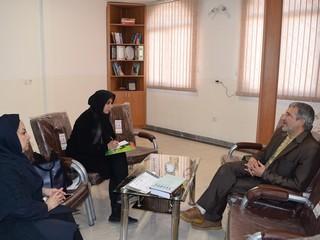 جلسه دکتر حیدریان با کمیته روانشناسی و نایب رئیس بانوان