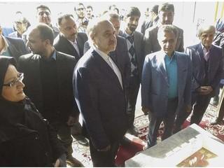 رونمایی از طرح های هیات پزشکی ورزشی استان خراسان رضوی در حضور وزیر ورزش
