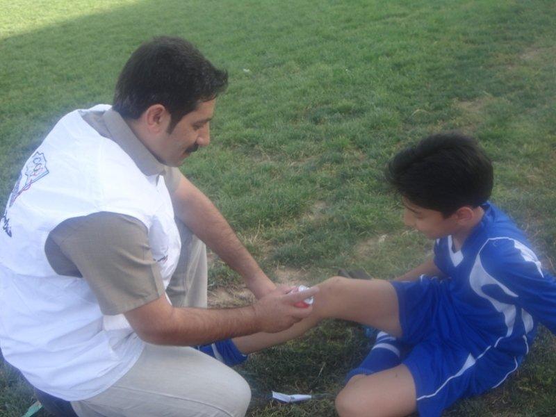 پوشش پزشکی مسابقات جام فجر در چهار محال وبختیاری