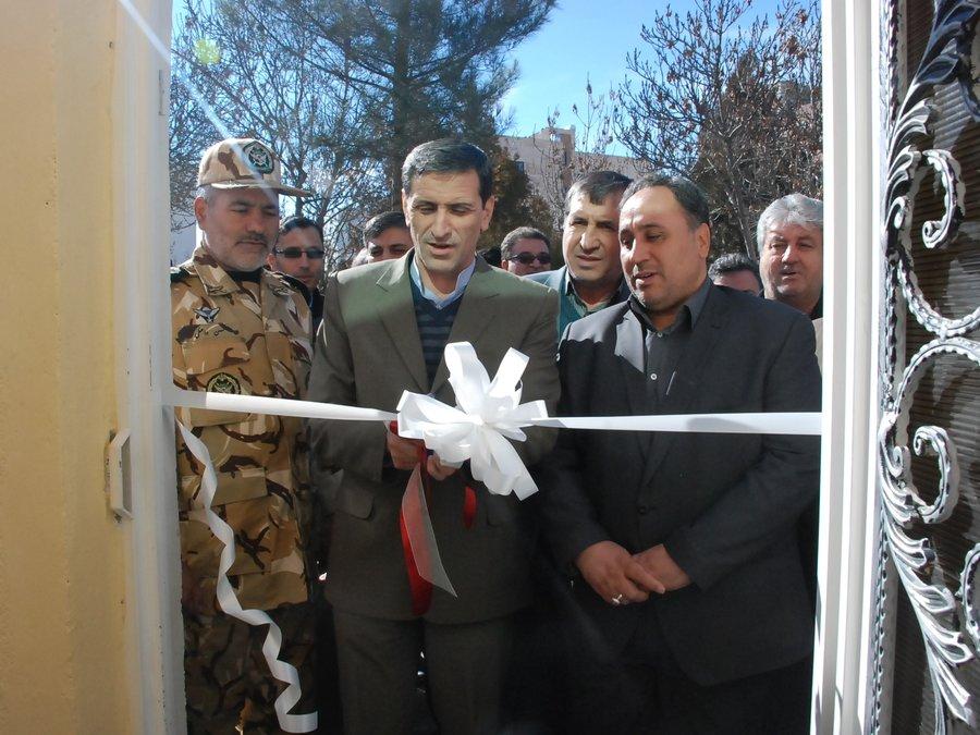 مرکز فیزیوتراپی و ساختمان اداری افتتاح شد.