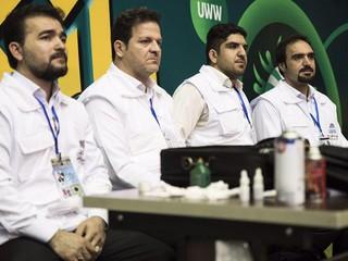 پوشش پزشکی جام جهانی کشتی آزاد