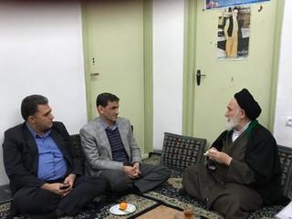 دکتر نوروزی با آیت الله حسینی شاهرودی دیدار کرد