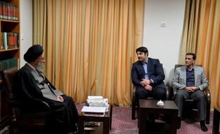 دیدار رئیس فدراسیون پزشکی ورزشی با آیت الله نورمفیدی و آیت الله شاهرودی