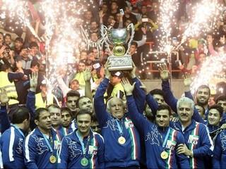 قهرمانی تیم ملی کشتی