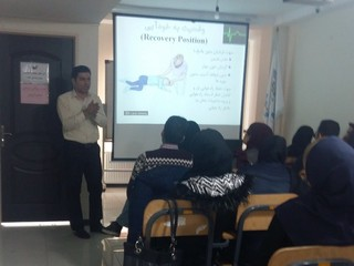 دومین دوره آموزشی کمک های اولیه در قزوین برگزار شد