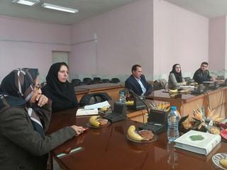 جلسه کمیته شهرستانهای استان زنجان