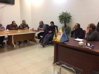 گزارش تصویری از نشست تخصصی اعضای هیات پزشکی ورزشی با مدیر کل و معاونت اداره کل ورزش و جوانان استان