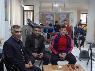 تست آنالیزبدنی کشتی گیران تیم ملی ترکمنستان توسط هیات پزشکی ورزشی استان مازندران