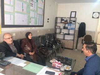بازدید نمایندگان هیأت پزشکی قزوین از شهرستان آوج