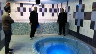 بازدید از باشگاه  متقاضی تاسیس  مرکز ماساژ ورزشی