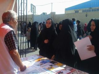 غرفه هیات پزشکی ورزشی یزد در گردهمایی امیدواران