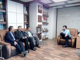 دیدار با مدیرکل ورزش و جوانان کرمان