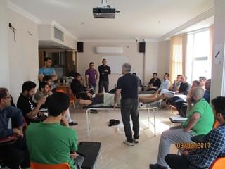 دوره ماساژ ورزشی اصفهان به روایت تصویر