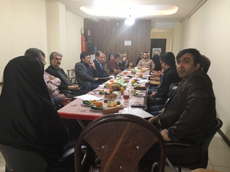 آخرین جلسه هماهنگی اعضای هیأت پزشکی ورزشی استان قزوین