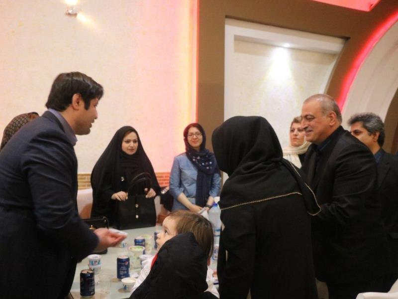 تجلیل از رئیس، نائب رئیس بانوان و دبیر هیات پزشکی ورزشی گلستان