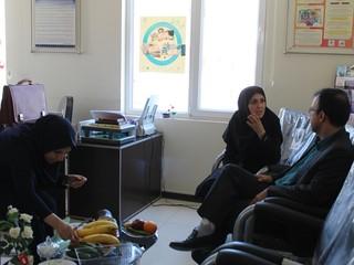 حضور دکتر سعید در هیأت پزشکی قزوین