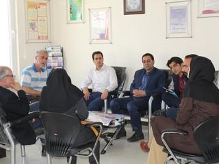 جلسه هماهنگی ناظرین قزوین