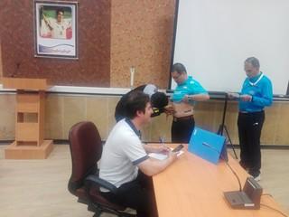 تست داوران مسابقات والیبال امیدهای آسیا