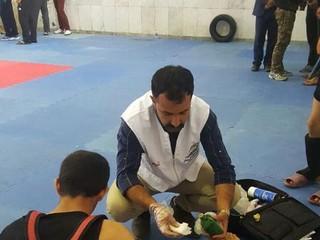 مسابقات پنج جانبه کشوری ووشو در یاسوج