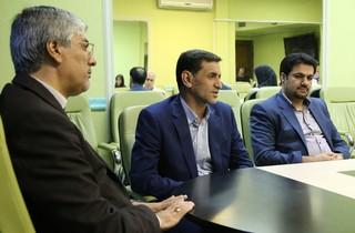 دیدار گروه پزشکی اعزامی به بازی های کشورهای اسلامی با رئیس کمیته ملی المپیک