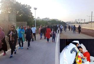 همایش پیاده روی بانوان شیراز