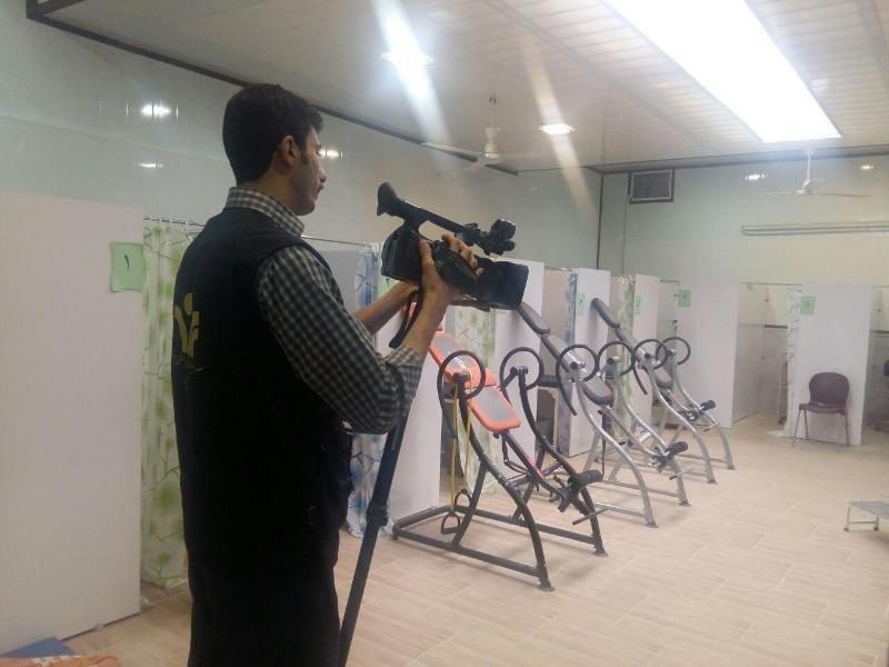 تجهیز مرکز فیزیوتراپی هیات پزشکی ورزشی یزد