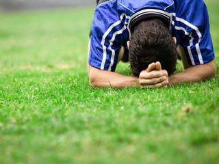 فشار عصبی ورزشکار آسیب دیده