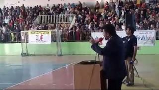 سخنرانی عضو کمیته روانشناسی استان در همایش پیاده روی خانوادگی بندرترکمن