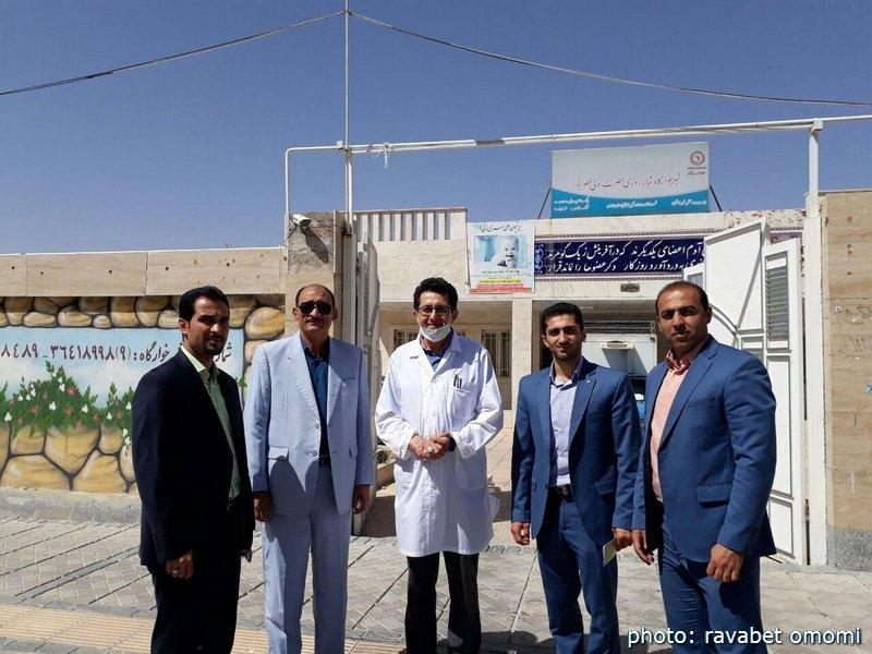 دیدار سرپرست هیات پزشکی ورزشی فارس با فرزندان شیرخوارگاه حضرت ولی عصر(عج)