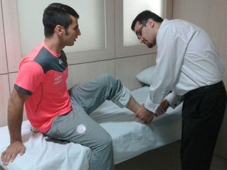دو ملی پوش ووشو در فدراسیون پزشکی ورزشی معاینه شدند