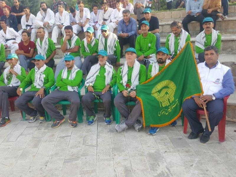 استقبال از  جشنواره فرهنگی ورزشی جاده ولایت در یاسوج