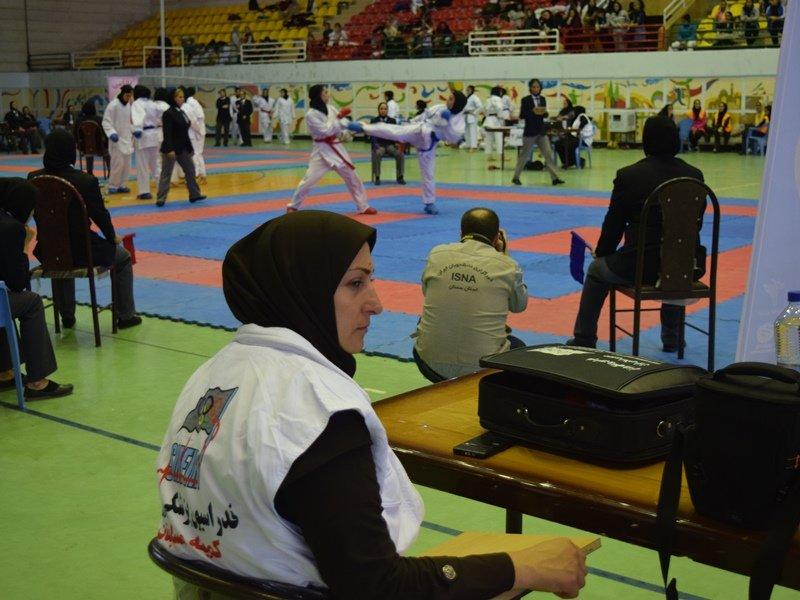 پوشش پزشکی انتخابی تیم ملی کاراته