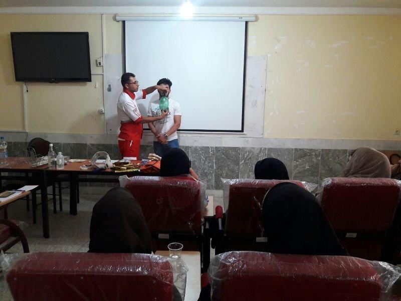 کارگاه امدادگری ورزشی در بهبهان خوزستان