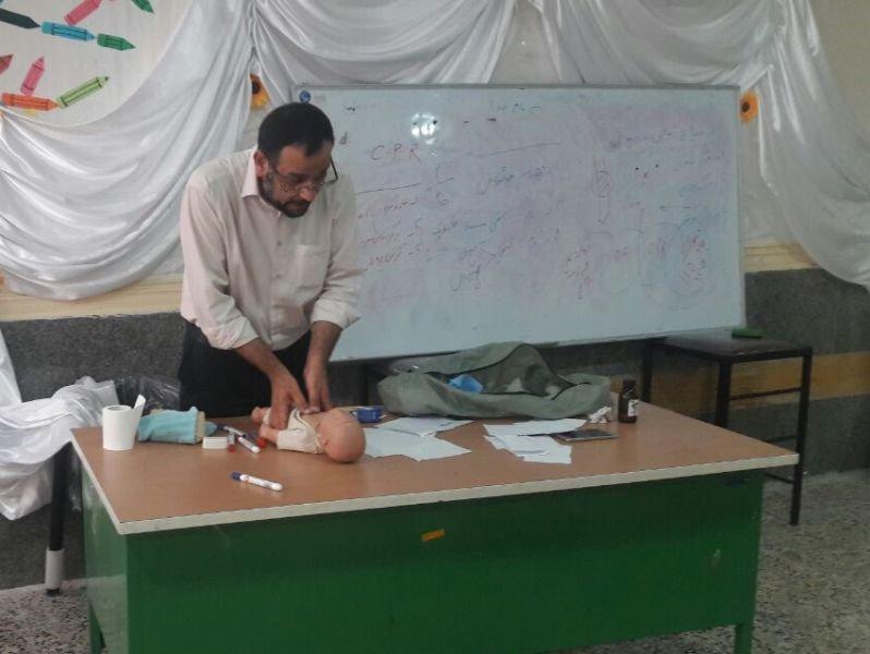 کارگاه آموزشی امدادگری ورزشی در هندیجان خوزستان