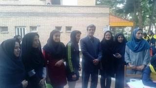 پوشش پزشکی مسابقات سراسری دانش آموزان دختر در مشهد