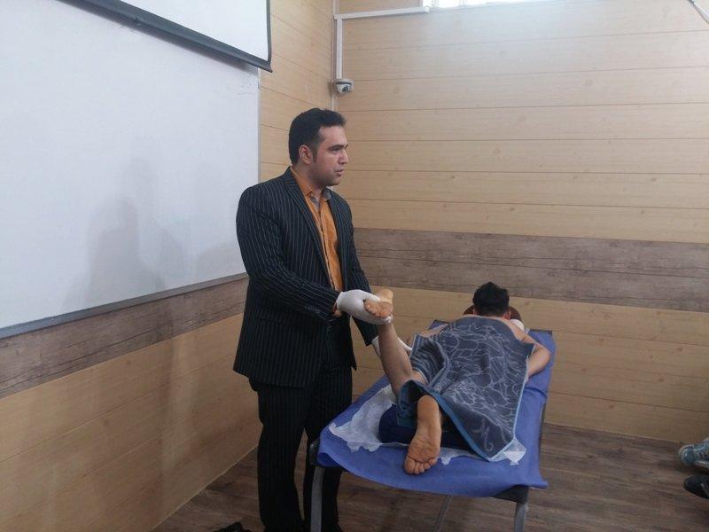 کارگاه آموزشی ماساژ ورزشی در خوزستان برگزار شد