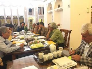 نشست هم اندیشی روئسای هیات پزشکی ورزشی شهرستان های  یزد  برگزار شد.