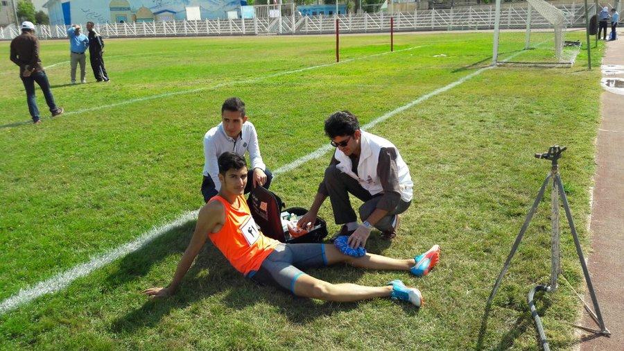 پوشش پزشکی المپیاد ورزشی شمال غرب ایران در اردبیل