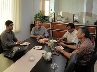 نشست با معاون فرهنگی دانشجویی علوم پزشکی-کرمان
