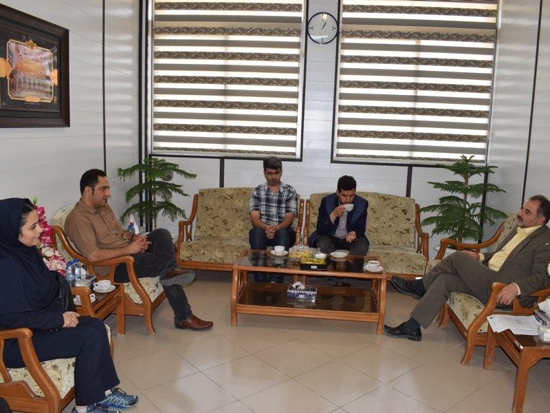 بازدید نمایندگان فدراسیون از هیات پزشکی ورزشی استان قم