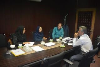نشست مدیرکل اداره ورزش وهیات زنجان